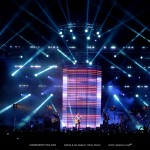 "Stunning Martin LED Cylinder on ""GiannaDream Tour"""