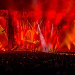 Robe Pointes 'On Fire' With the Rolling Stones