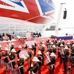 XL Video Supply Launch of P&O Cruises' Newest Cruise Ship, Britannia